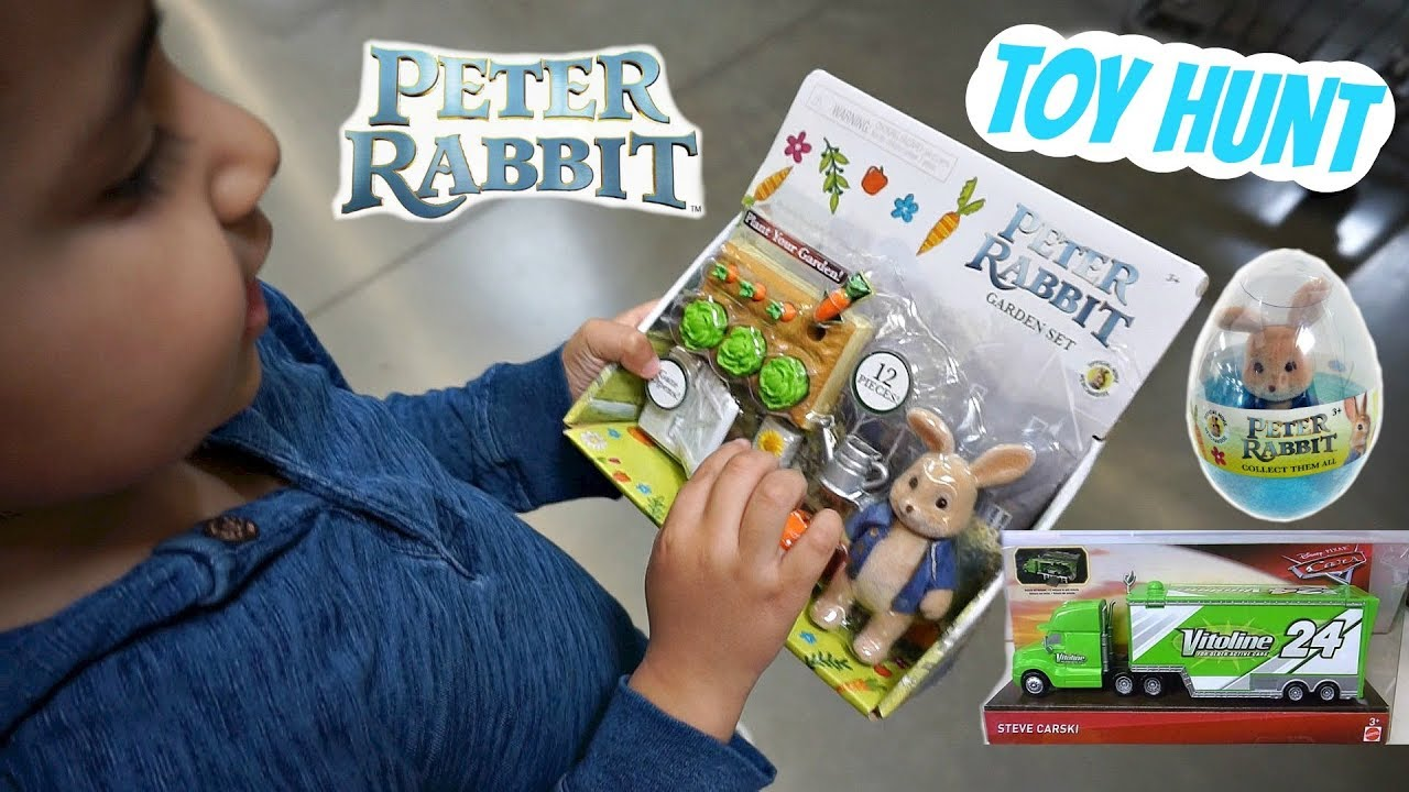 Not Toys For 2018 From Moive : Toy hunt peter rabbit movie toys and new cars