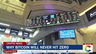 Why Bitcoin Will Never Hit Zero