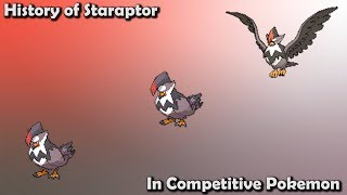 How GOOD was Staraptor ACTUALLY? - History of Staraptor in Competitive Pokemon (Gens 4-7)
