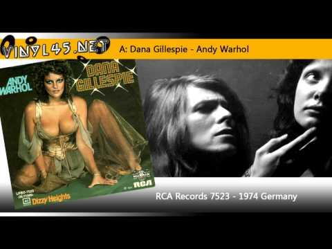 Dana Gillespie - Andy Warhol - David Bowie Cover