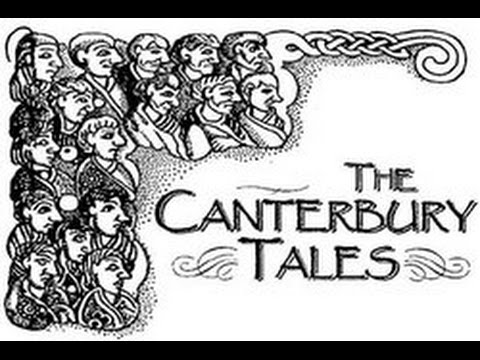 Chaucer's Canterbury Tales Prologue in Middle English (Not C