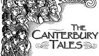 Repeat youtube video Chaucer's Canterbury Tales Prologue in Middle English (Not Complete)