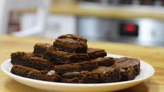 Domowy przepis na brownie, pyszne czekoladowe ciasto, Recipe for brownie