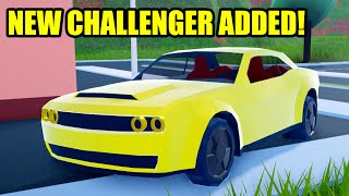 NEW CHALLENGER ADDED | BOAT ROBBERY BUFFED! Roblox Jailbreak