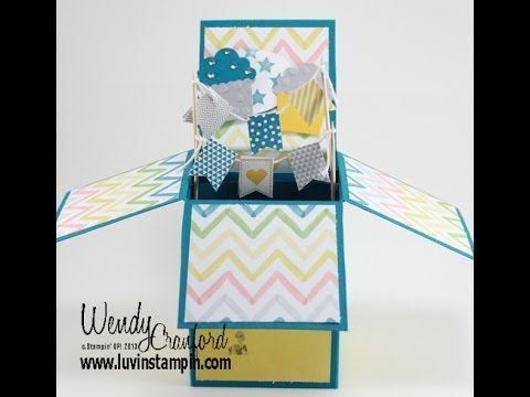 Pop Up Box Card Tutorial - YouTube