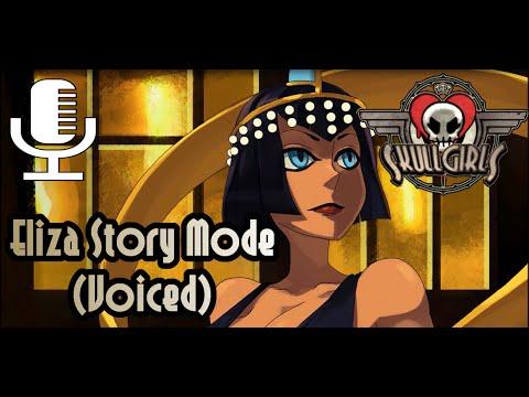 Skullgirls 2nd Encore Eliza Story Mode Voiced