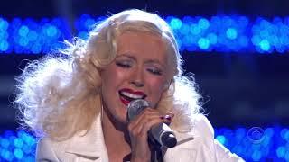Christina Aguilera - It's A Man's Man's Man's World Live At Grammy Awards (11/02/2007)