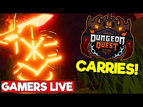 👹-carry-&-giveaways---volcanic-chamber---roblox-dungeon-quest