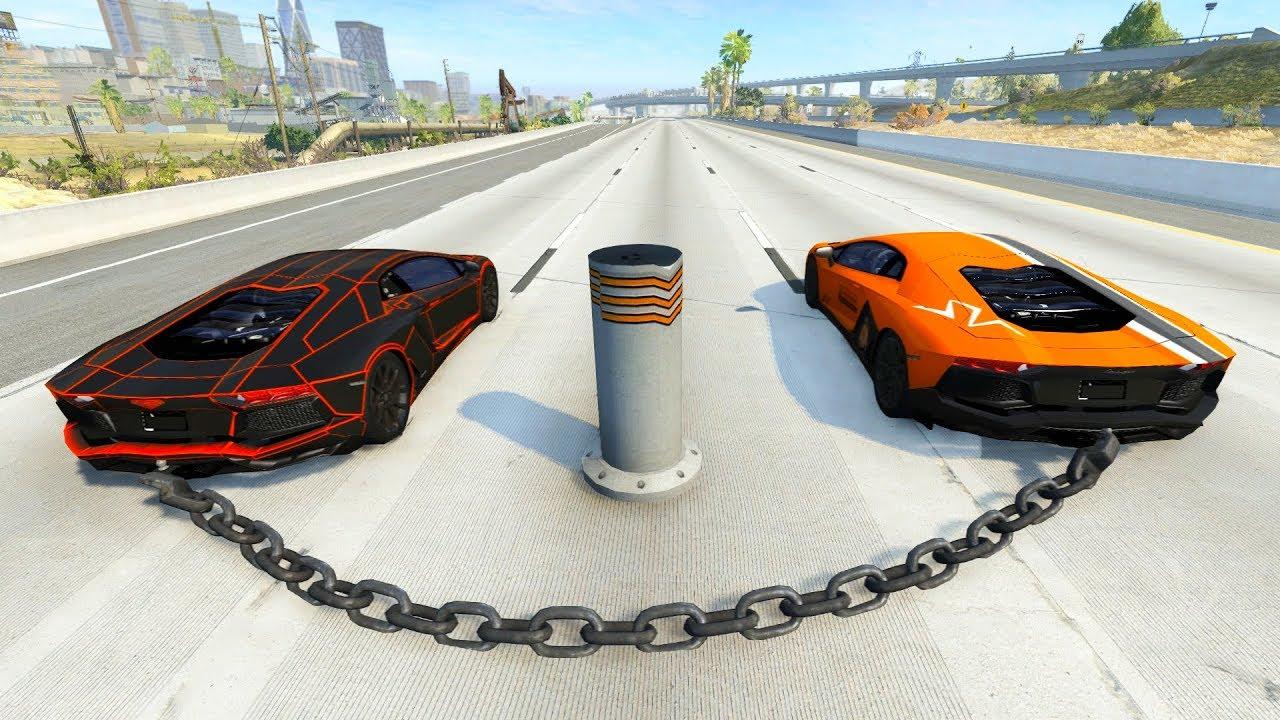 Download Satisfying Car Crashes Compilation Beamng Drive (Car Shredding Experiment)