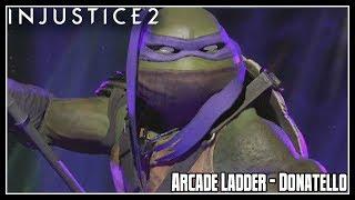 Injustice 2 Arcade Ladder Mode - Donatello