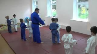 Дзюдо. Дети. 5 - 6 лет. Отработка бросков. Centre Judo Kids. Feodosiya