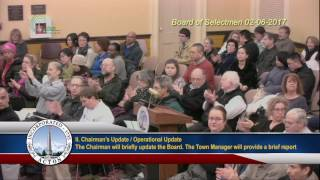 Selectmen Meeting 2/6/17
