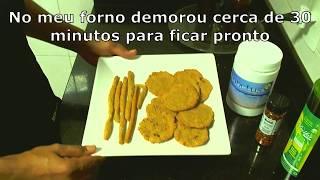 Biscoito de amaranto - Prebiótico