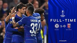 Chelsea Vs Videoton   Higlist 1-0   UEFA EUROPA LEAGUE