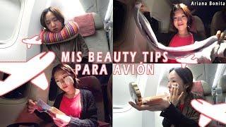 Mis consejos de BELLEZA para viajar en avión │ Vlog │ Viaje a Australia