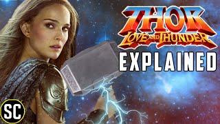 Thor Love and Thunder REVEALED: How Jane Lift Mjolnir THEORY