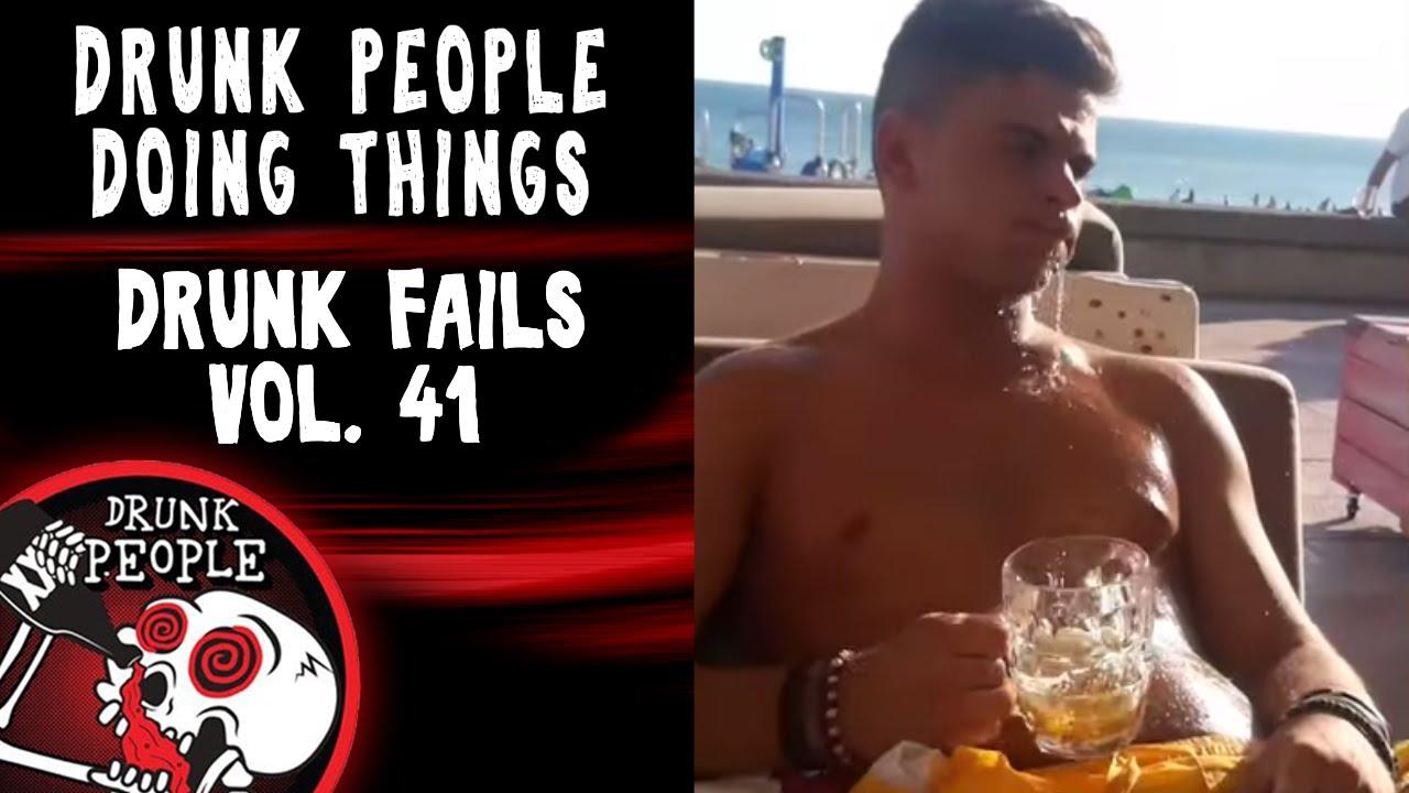 Funniest Drunk Fails Vol 41