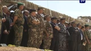 جلالة القائد الأعلى يتابع تمريناً عسكرياً تعبوياً