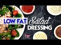 4 Low Fat Salad Dressings | Weight Loss Recipes | Joanna Soh