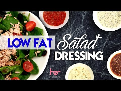 4 Low Fat Salad Dressings | Weight Loss Recipes | Joanna Soh