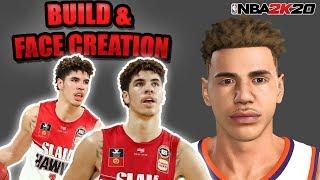 NBA 2K20 MyCAREER LaMelo Ball #1 LaMelo Ball Face Creation & Build