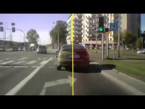 Прикол! Как водят водители-дальтоники