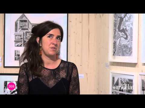 """Diane Berg - exposition """"architectures dessinées"""" au 308"""