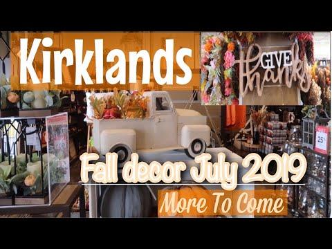 Kirklands New Fall Decor 2019 | Farmhouse Decor