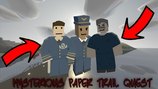 Mysterious Paper Trail Quest SOLVED! |Unturned