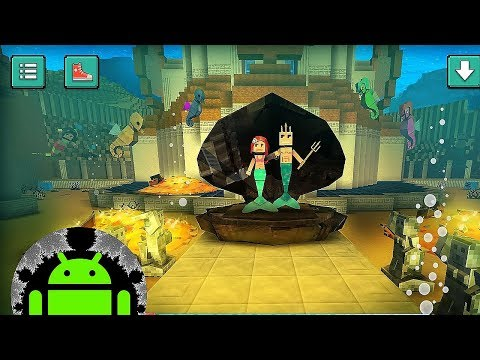 Mermaid Craft: Ocean Princess. Sea Adventure Games - Android Gameplay
