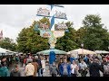 Viktualienmarkt, the daily food market in Munich, Germany