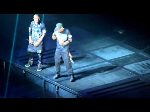 Jay Z & Kanye West   All falls down & Diamonds from Sierra Leone   in Chicago  1212011