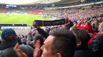 Liga Pokal Endspiel Schottland 2016