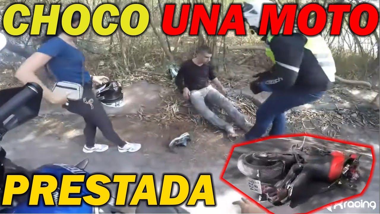 CHOCO UNA MOTO PRESTADA | SUSTOS DE MOTOS | LA SERIE #31