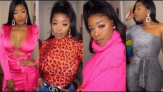 2019 Shein.com Slim Thick Try-on Haul New improvements! Fashion Trends  Valentines Inspired Looks Video