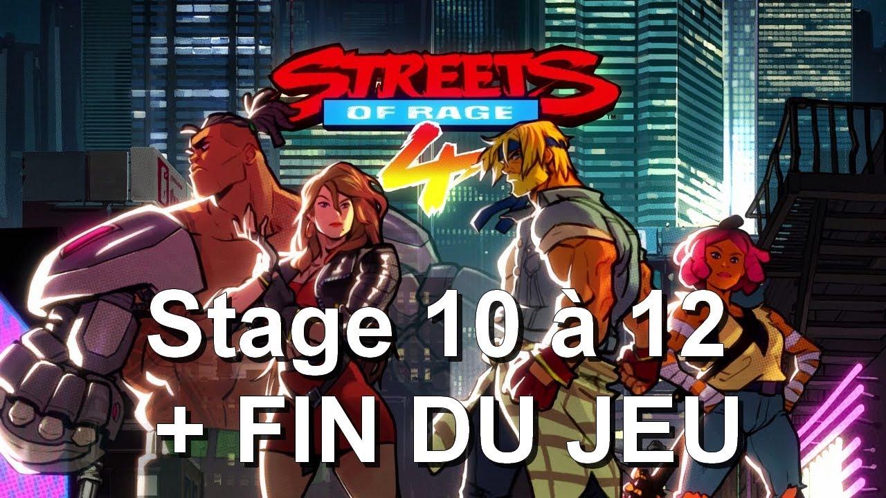 Live / Let's Play - Streets Of Rage 4 - Stage 10 à 12 + FIN DU JEU