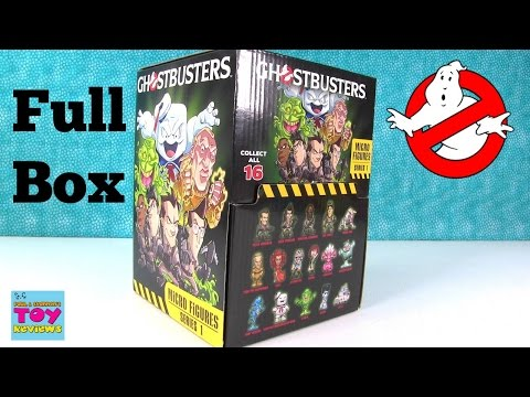 Ghostbusters Micro Figures Series 1 Full Box Opening Blind Bag | PSToyReviews