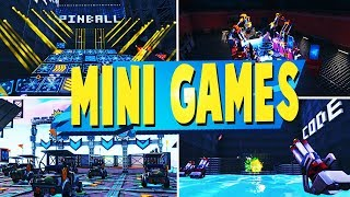 TOP 5 FUN CUSTOM MINI GAMES Kreative MAPS In Fortnite | Fortnite Custom Map CODES
