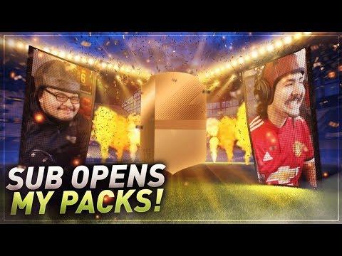 WEEKEND LEAGUE REWARDS RANDOM SUB OPENS MY PACKS FIFA 18