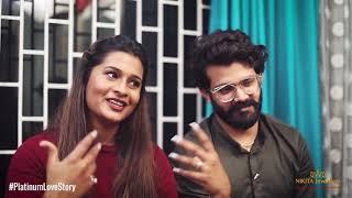 Savitha & Shivalik : Platinum Love Story by Nikita Jewellers Vashi