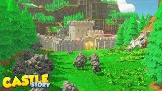 Rediff Castle Story - On construit son chateau bloc par bloc pour repousser les Corruptrons!