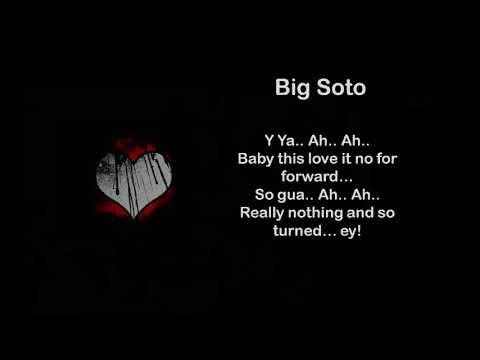 Big Soto - SOLO TU ❤ - Letra
