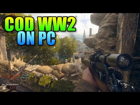 Call Of Duty WWII PC First Impressions - It Sure Is Pretty