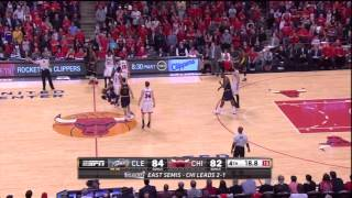 How LeBron James Beat The Bulls: Cavaliers at Bulls Game 4