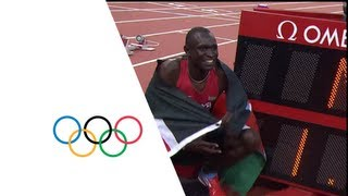 David Rudisha Breaks 800m World Record - London 2012 Olympics