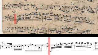 BWV 1010 - Cello Suite No.4 (Scrolling)