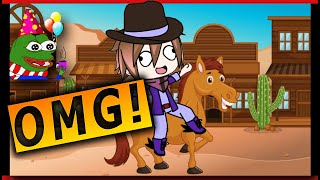 Got the horses in the back gacha life music video NEW Edition old town road 🔥