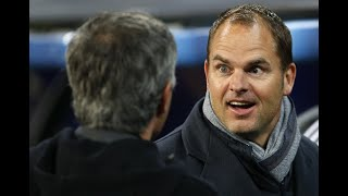 Frank de Boer is the 'worst manager in Premier League history' – Mourinho