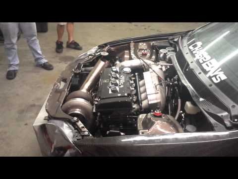 Fully Built B18C Drag car 925WHP idle and rev