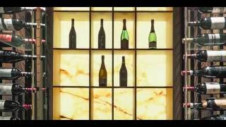 Wine Cellar Design by Papro Consulting, 'Modern Onyx Wine Cellar'